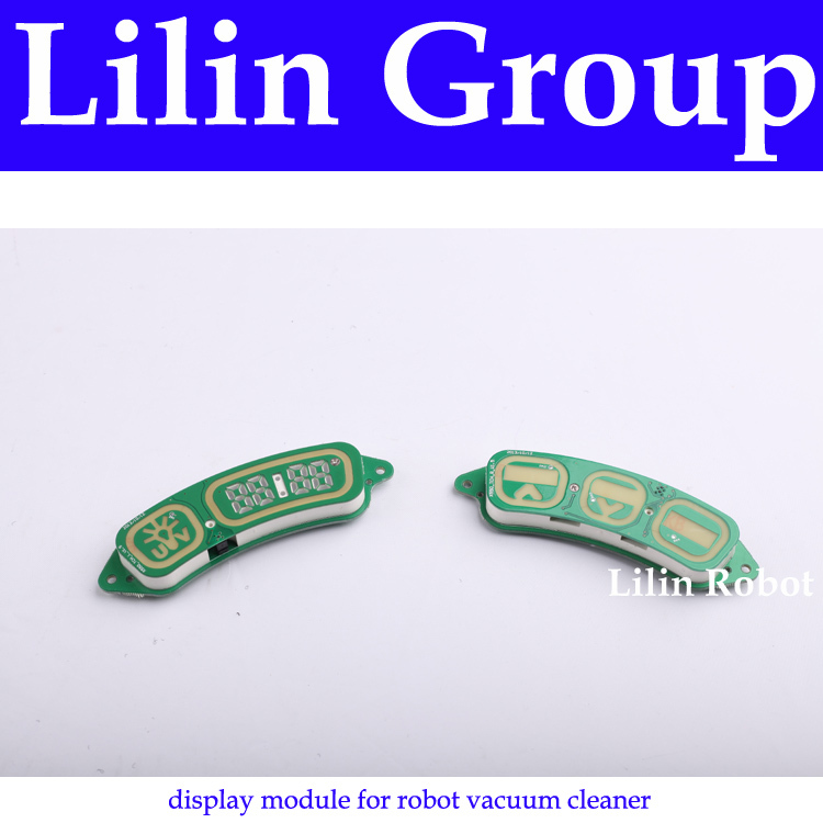 (For X550) Display Module for Robot Vacuum Cleaner, 1 Pack Includes 1 Left Display Module + 1 Right Display Module new 2pcs female right left vivid foot mannequin jewerly display model art sketch