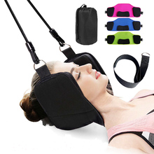 Breathable Portable Neck Hammock, Traction Cervical Hammock Massager Pillow for Office Home Use