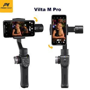Image 3 - ในสต็อก Freevision Vilta M Pro 3 Axis Handheld Gimbal Smartphone Stabilizer สำหรับ Huawei P30 Pro IPhone X XS Samsung GOPRO 5/6/7