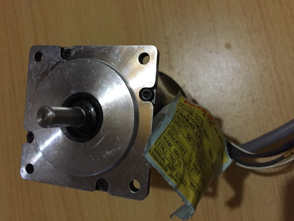 New Without Box Fanuc Ac Servo Motor A06b-0532-b001 *as Per Picture Condition* Clear And Distinctive