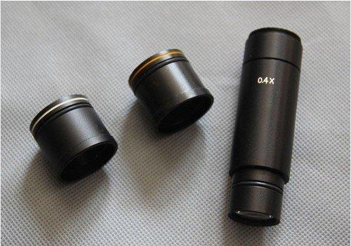 ФОТО Brand New 0.4x C-mount digital eyepiece stereo microscope adaptor! free shipping