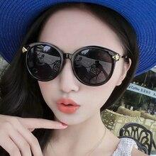 Gafas De Sol redondas mujeres diseñador De la marca con la caja Retro Gafas De Sol para Mujer Gafas De Sol Mujer luneta De Soleil Femme Zonnebril