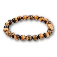 Mode 8MM Chakra œil de tigre bouddha bracelets pour femme hommes pierre naturelle perles rondes Bracelet bijoux de lave Pulseira Masculina