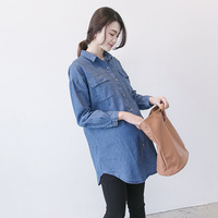 2018 Comfortable Women Pregnancy Clothes Summer Maternity Shirts Pregnancy Blouse Shirt Pregnant Maternity Clothes