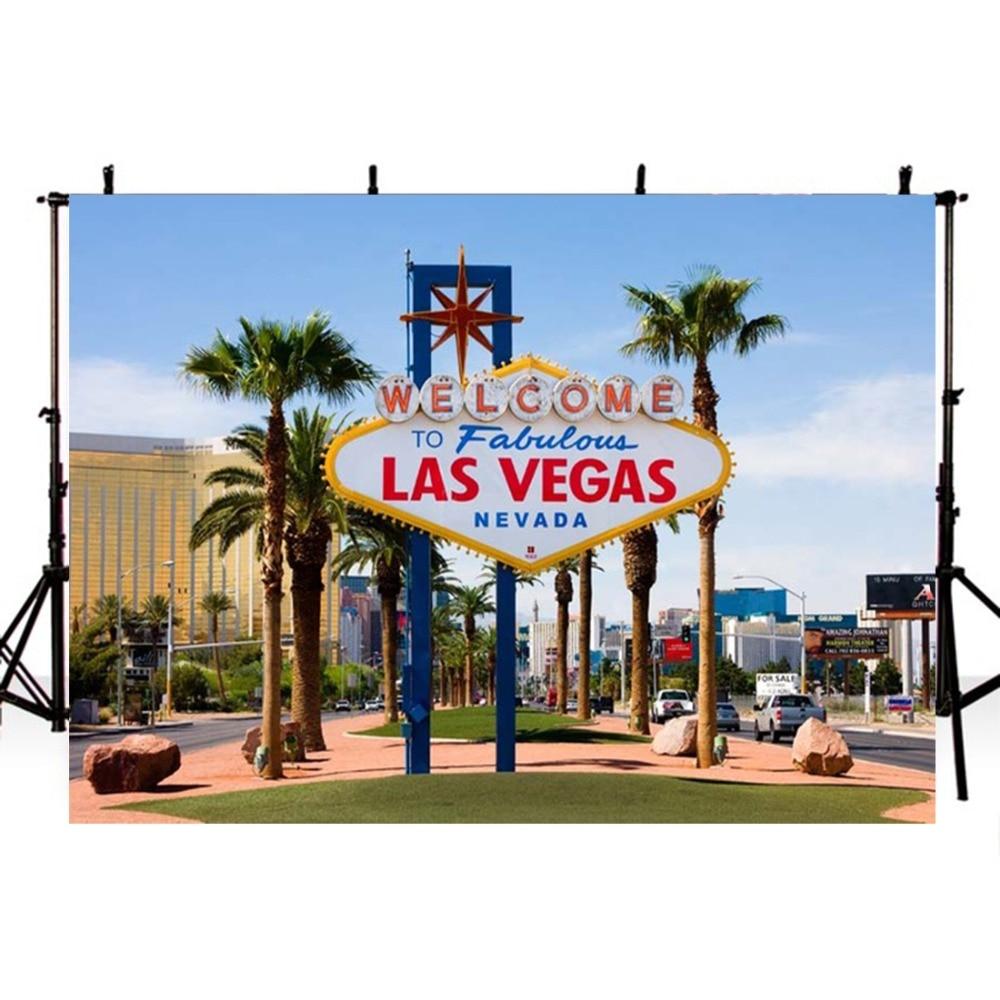 Las Vegas Photography Backdrops Vinyl Backdrop For