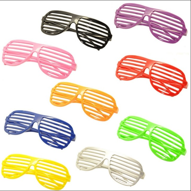 (1pcs/Lot) In Stock Super Quality Unisex Shutter Glass Sunglass for Party