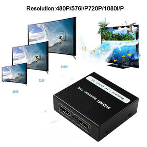 Image 5 - HD 4K HDMI Splitter 1X4 1X2Port 3D UHD 1080p 4K*2K Video HDMI Switch Switcher HDMI 1 Input 4 Output HUB Repeater Amplifier