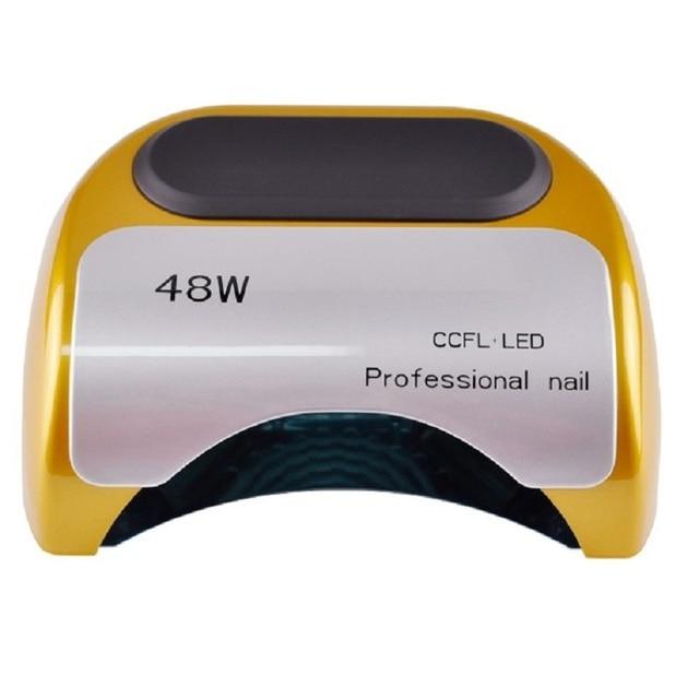 48W Nail Dryer - UV lamp for nail Polish UV Gel fast dry CCFL LED  Nail tools with automatic sensor Salon Beauty Equipment