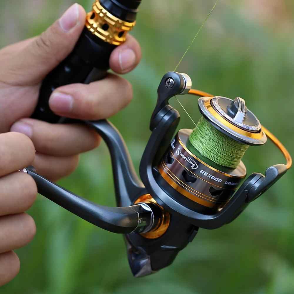 Sougayilang bâton canne à pêche en Fiber de carbone canne à pêche pour poisson Olta filature télescopique Mini canne à pêche ensemble avec moulinet
