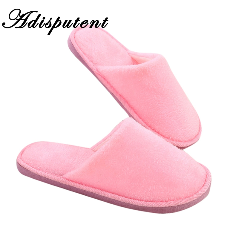 Adisputent Home Slippers Women Winter Shoes Fluffy Slipper Candy Color Warm Plush Woman Indoor Cotton Shoe EVA moonseed slippersAdisputent Home Slippers Women Winter Shoes Fluffy Slipper Candy Color Warm Plush Woman Indoor Cotton Shoe EVA moonseed slippers