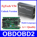 Новый FGTech Galletto 4 Мастер V54 BDM Полнофункциональный Fg технология V54 Авто ЭКЮ Чип Тюнинг BDM OBD FG-TECH Свободный Корабль