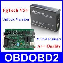 Newest FGTech V54 Galletto 4 Master Support BDM Full Function Fg Tech V54 Auto ECU Chip Tuning BDM OBD FG-TECH Free Ship