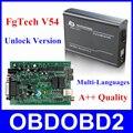 Recentes Função Fg V54 FGTech Galletto 4 Master BDM Suporte Completo tecnologia V54 BDM OBD Auto ECU Tuning Chip FG-TECH Navio Livre