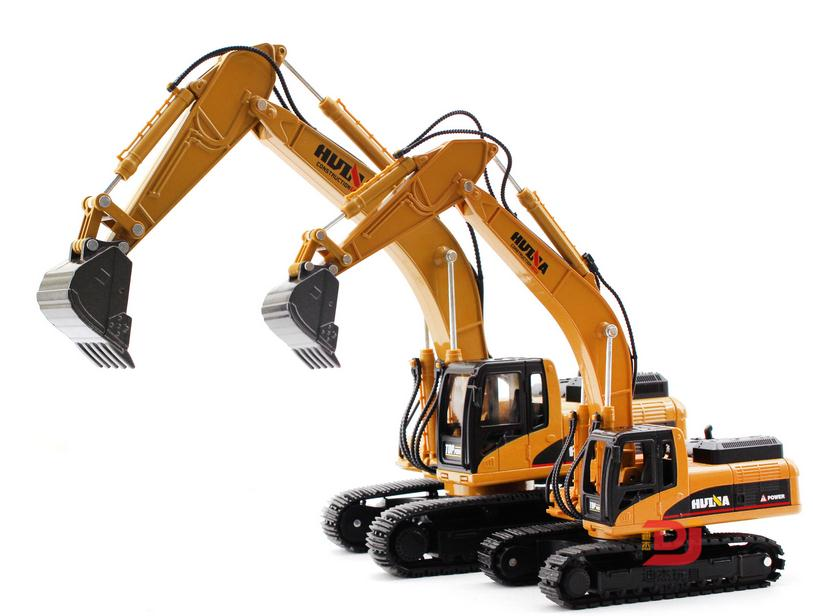 Simulation alloy engineering vehicle model, 1: 40 alloy excavator toys, metal castings, toy vehicles, free shipping free shipping alloy engineering vehicle model 1 87 tower cable car crane toy original factory simulation children