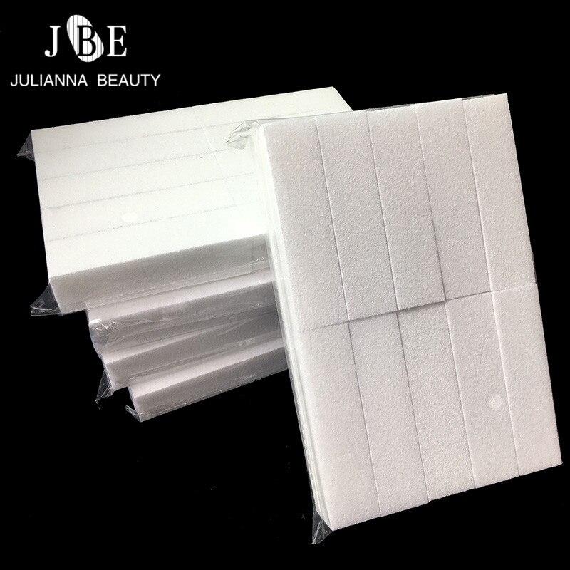 цена на 50Pcs/set Sanding Sponge Nail File Buffer Block For UV Gel Nail Polish DIY Nail Art Manicure Pedicure White Nail Buffers File
