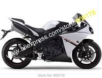 Hot Sales,For Yamaha YZF R1 2012 2013 2014 YZF1000 12 14 YZF R1 YZF R1 Black White Bodyworks Fairing Kit (Injection molding)
