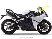 Hot Sales,For Yamaha YZF R1 2012 2013 2014 YZF1000 12 14 YZF R1 YZF R1 Black White Bodyworks Fairing Kit (Injection molding)