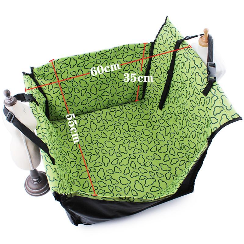 Waterproof Single Dog Seat Cover Pet Rear Carrier Mat Blanket Dog Car Seat Back Protector Safe Dog Accessories Hammock 15