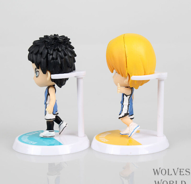 NEW 6pcs/set Kuroko's Basketball Anime Action Figures PVC brinquedos Collection Figures toys for christmas gift with Retail box