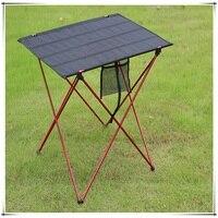 Aluminum Alloy Portable Outdoor Tables Garden Folding Desk With Waterproof Oxford Cloth