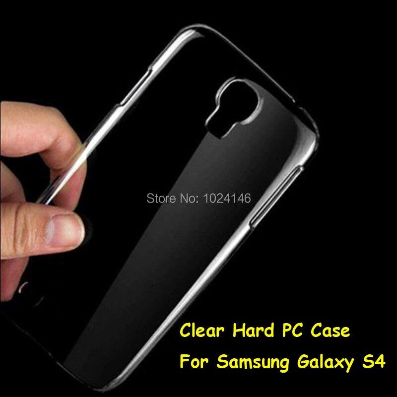 Новый тонкий кристалл прозрачный жесткий PC задняя защитная крышка кожи В виде ракушки для Samsung Galaxy S4 S 4 IV i9500