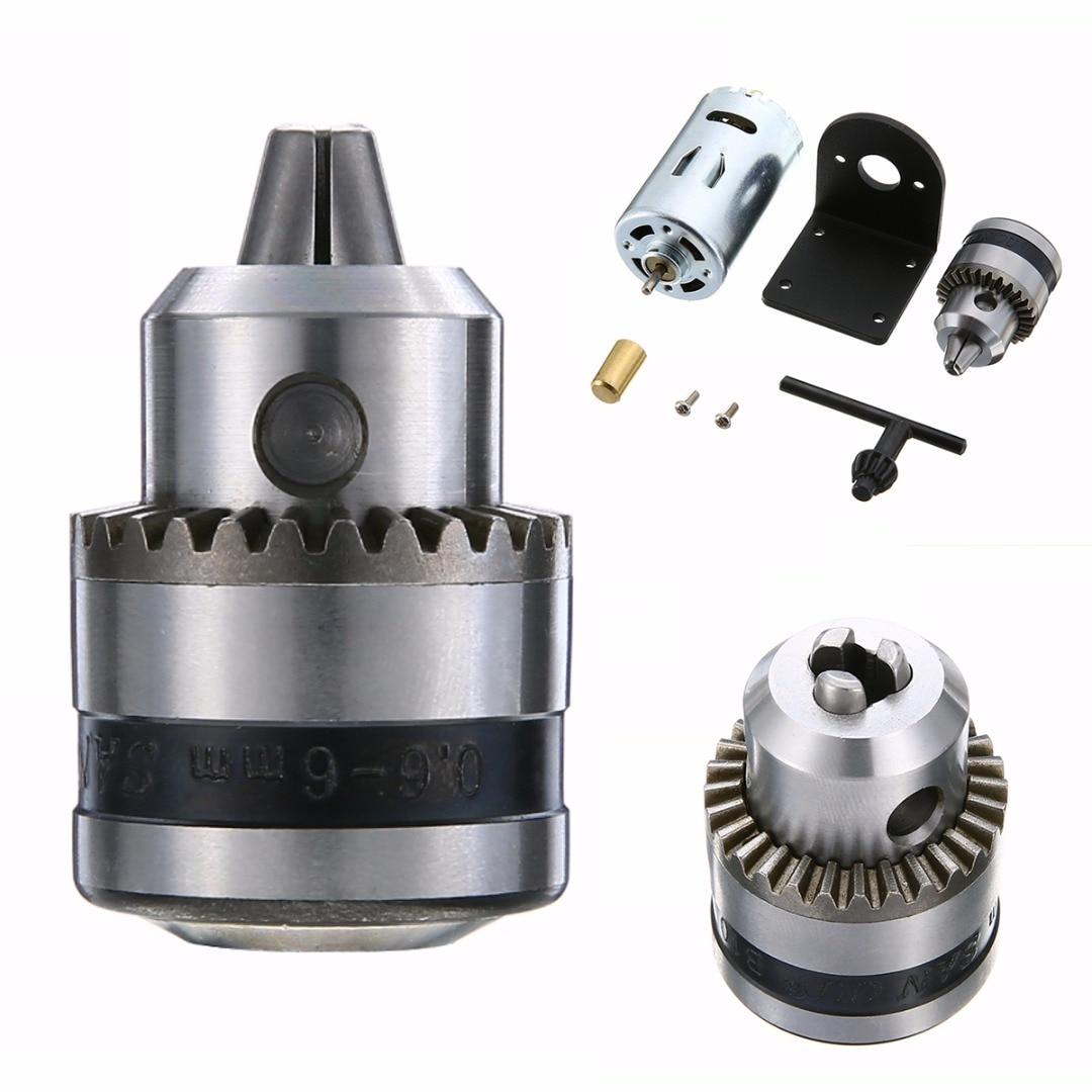 цена на Mini 5-12V Electric Drill Chuck Lathe Press Motor Micro Metal Hand Drill Kits Mayitr Power Tools Accessories