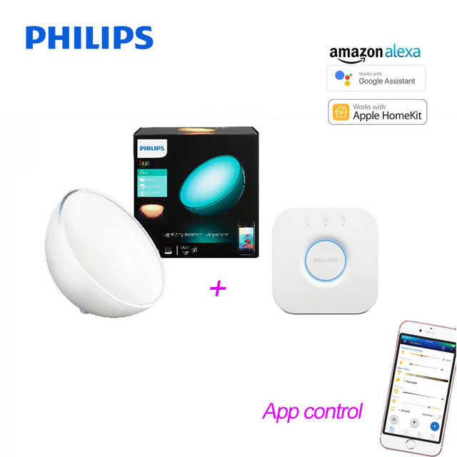 2018 New Philips Hue Portable Dimmable Table Lamp Bridges Compatible With Alexa Le Homekit And Google Istant