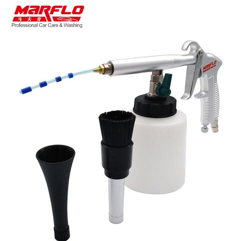 MARFLO Car Wash Tornado Gun Portable Tornador Cleaning Gun for Car Interior Cleaning Car Tornado Espuma