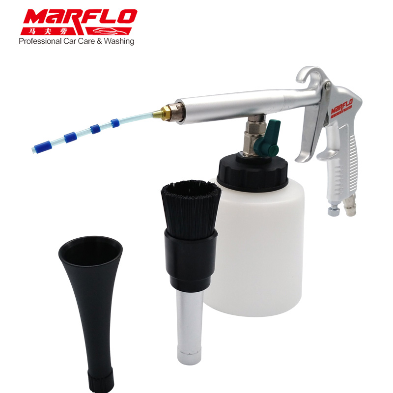 MARFLO Car Wash Tornado Gun Portable Tornador Cleaning Gun for Car Interior Cleaning Car Tornado Espuma Tool Free Shipping цена