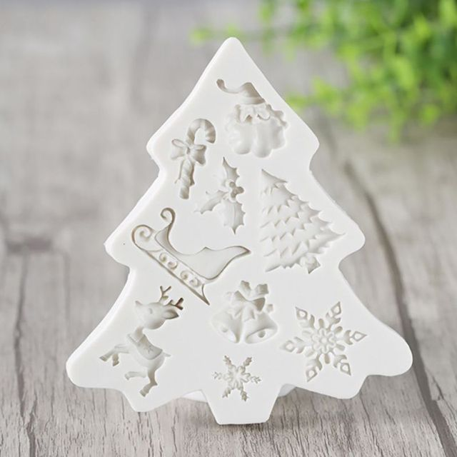 3D Silicone Christmas Mold
