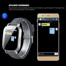 Envío Libre Z9 Blutooth Reloj Inteligente Dormir Podómetro Monitor de Mini Cámara Del Teléfono Mate Apoyo SIM Para ISO/Android Smartphone