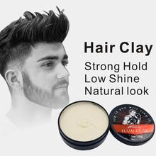 ISAY BAUTY Men Styling Hair Wax Makeup Hair Clay Coloring Hair Styling Wax High Hold Low Shine Hair Clay Makeup New Arrival