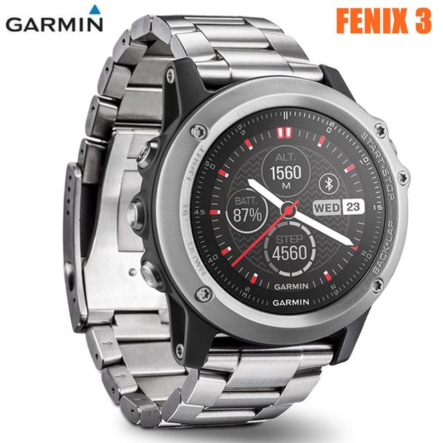 Garmin Fenix 3 Impermeable Bluetooth Wifi Inalambrico Smartwatch