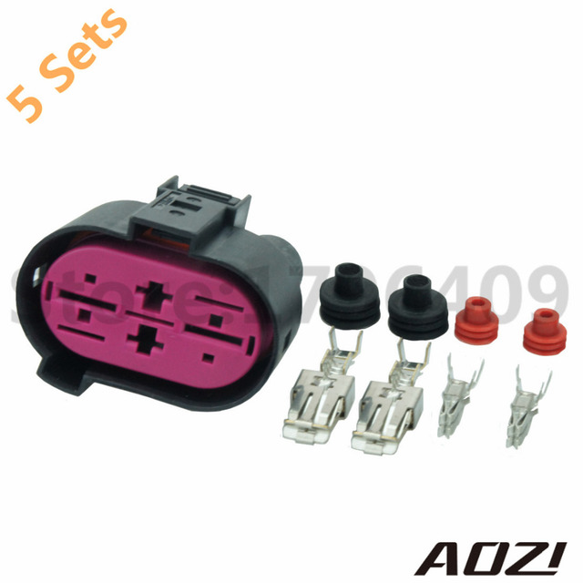 5sets audi a3 a4 vw seat skoda wiring loom connector plug harness rh aliexpress com Auto Wire Loom Hot Rod Wire Looms for Doors