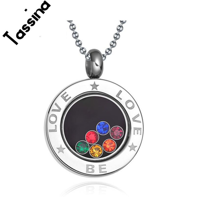 product pendant steel stainless shop kartz rainbow image necklace products