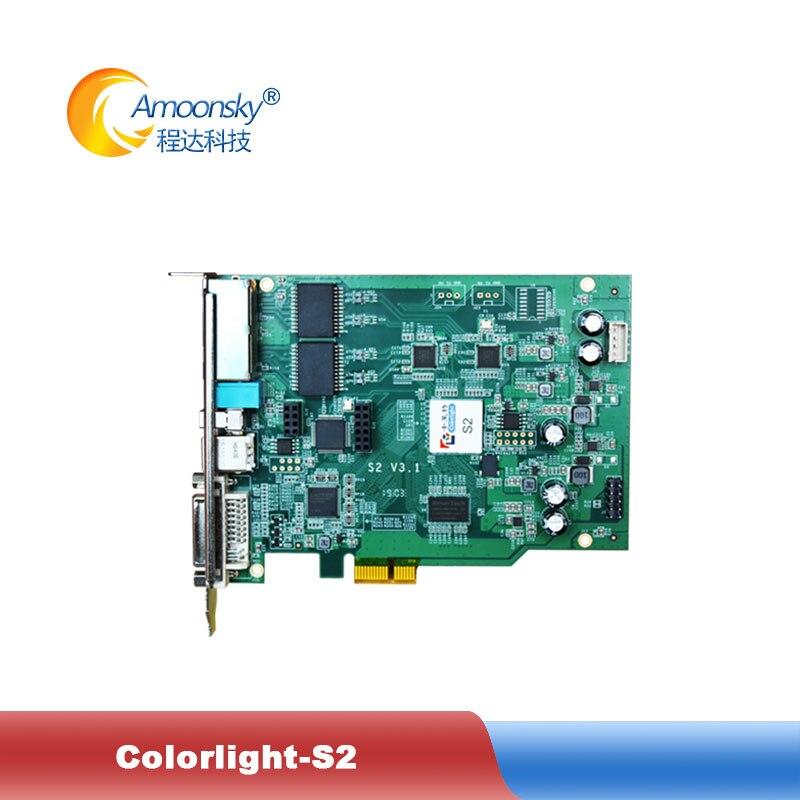 Colorlight S2 Sending Card Full Color LED Video Display Synchronization S2 Video Sender Max  Support 1920*1200 Pixels
