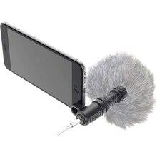 Foleto Rode VideoMic мне направленный микрофон мини видео Регистраторы для iphone8 8×7 6 6 S плюс Ipad 3.5 мм Jack смартфонов Mic