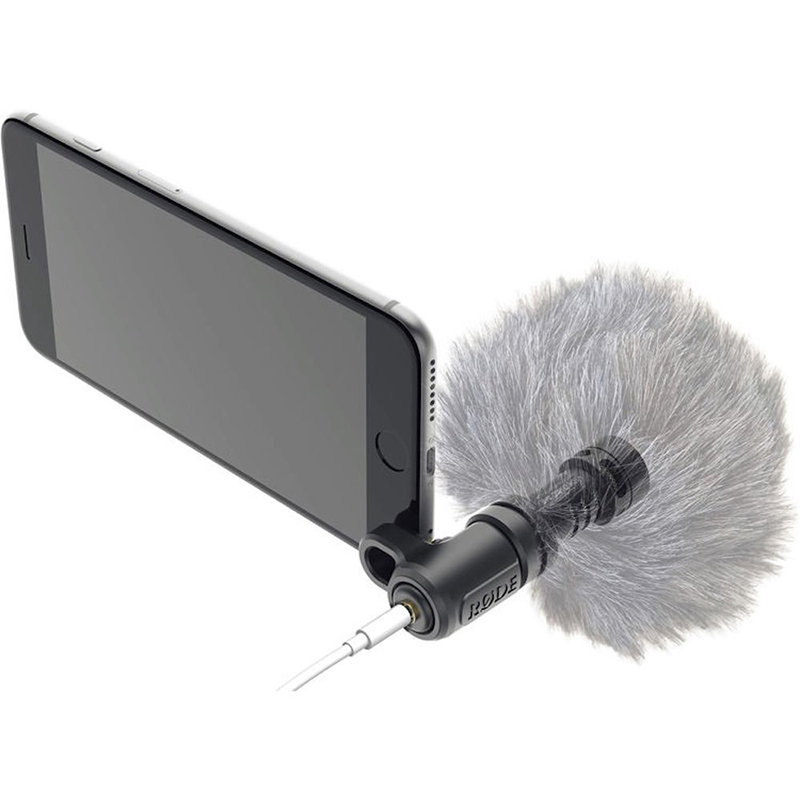 Foleto Rode VideoMic Me Directional Microphone Mini Video Recorder for iphone8 8x 7 6 6s plus Ipad 3.5mm Jack Smart Phones Mic