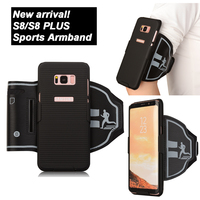 Sports Gym Running Exercise S8 Plus Armbands Phone Case Cover Holder For Sumsung Galaxy S8 S8plus