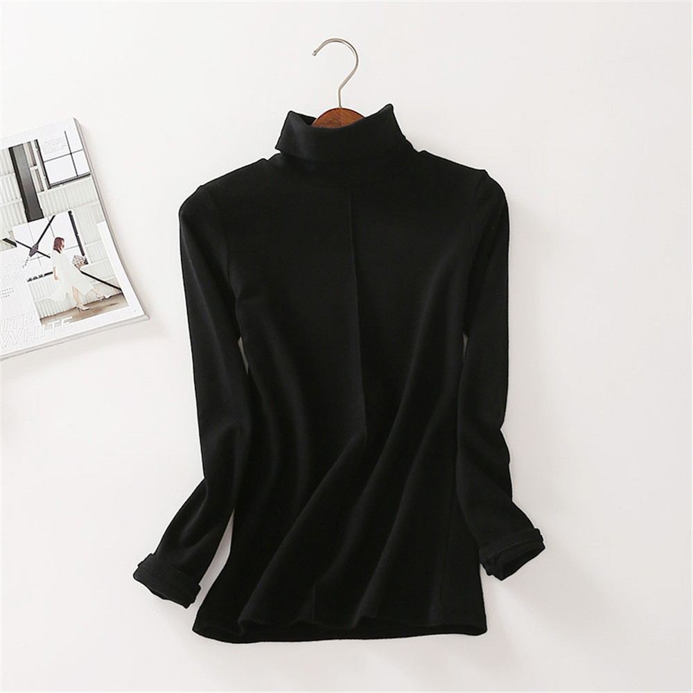 Sweater Female Soft Korean Style Skinny Winter Turtleneck Women Bodycon Basic Pullovers Long Sleeve Pull Femme Coat Female Top 15