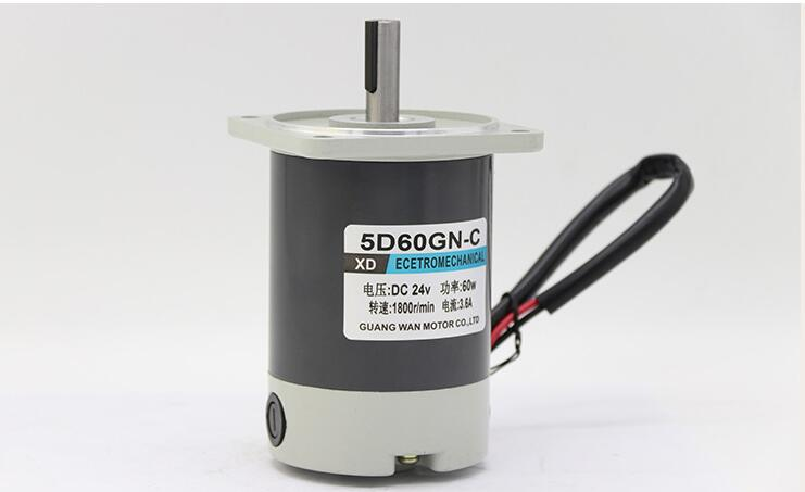 12V DC Motor / 24V Micro Speed Motor / 60W Slow Speed Motor / Gear Reducer Low Speed Motor new r775 12v 12000rpm dc micro motor stroller motor model motor speed motor