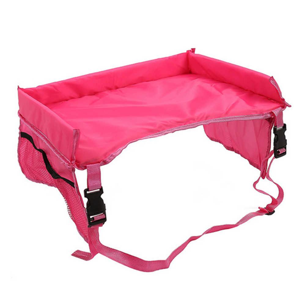 Младенческий держатель для коляски еда подлокотник для сидения автомобиля безопасности Многоцелевой Путешествия легко чистить съемный водонепроницаемый органайзер для хранения стола