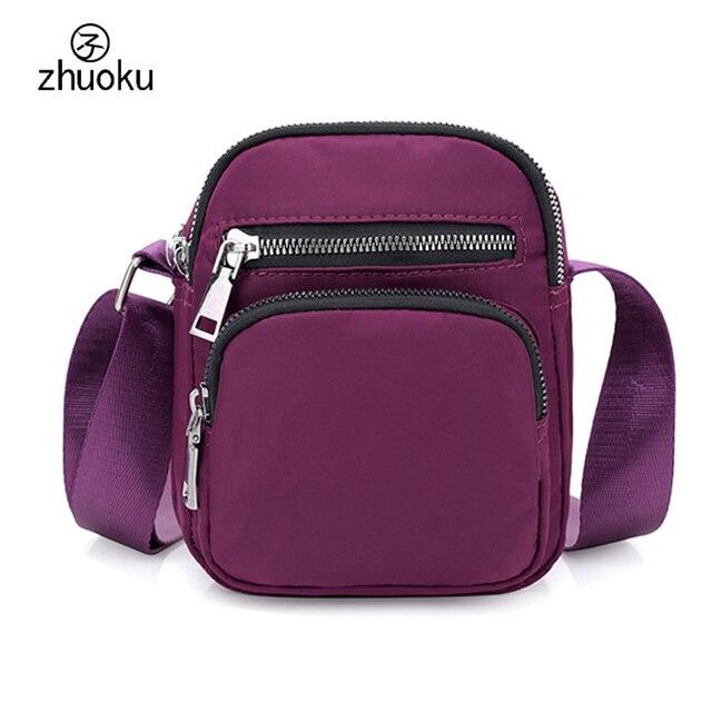 2018 summer beach small bag Waterproof nylon crossbody mini shoulder ... b0879623e07da