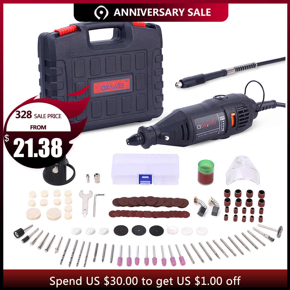 goxawee 220v power tools electric mini drill with 0 3 3 2mm univrersal chuck shiled [ 960 x 960 Pixel ]