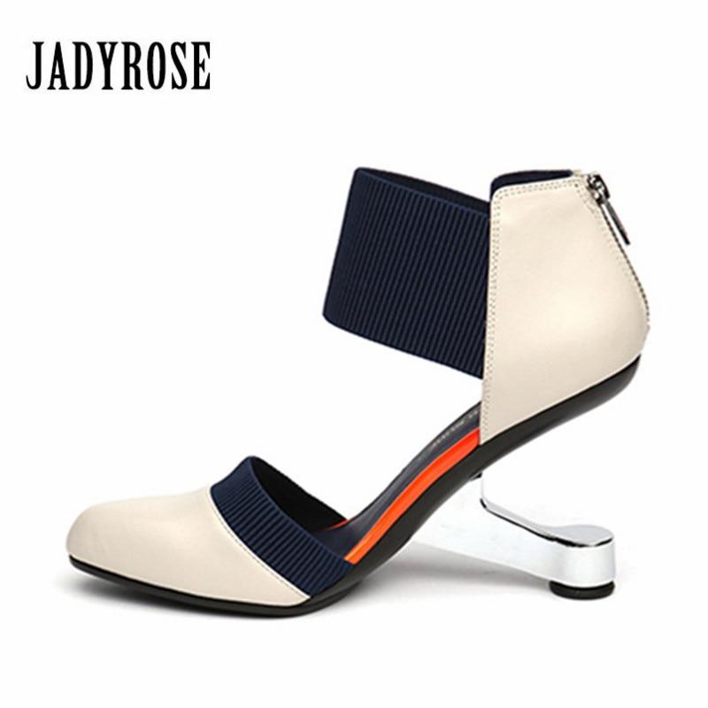 Jady Rose 2017 Fashion Black Pointed Toe Women Pumps Zip Wedding Dress Shoes Woman High Heels Valentine Shoes Stiletto Pumps цена 2017
