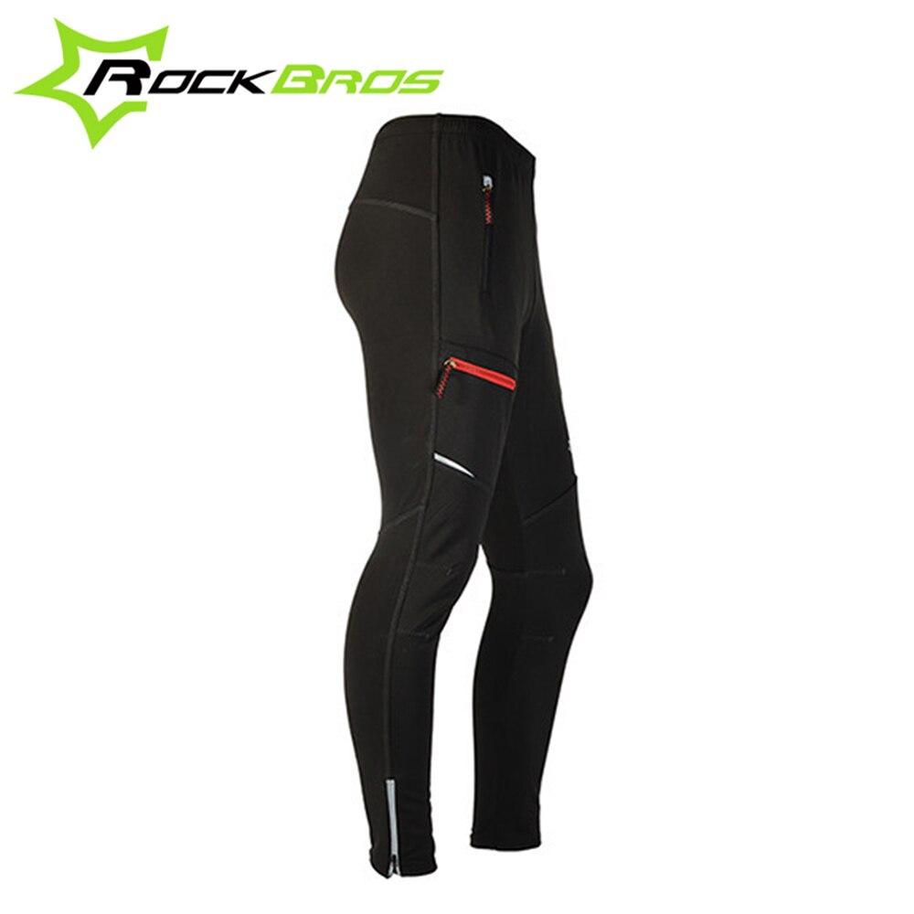 Мода Осень-Зима clismo bleta Велоспорт одежда велосипед брюки Езда на велосипеде Ветрозащитный тепловой Велоспорт брюки, черный