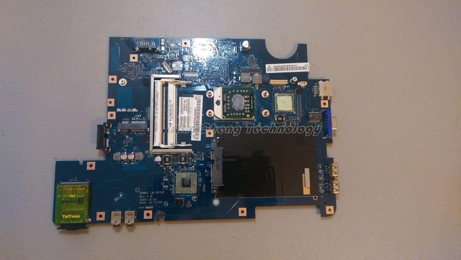 For Lenovo G555 LA-5972P DDR2 laptop Motherboard/mainboard with integrated graphics card 100% tested Fully