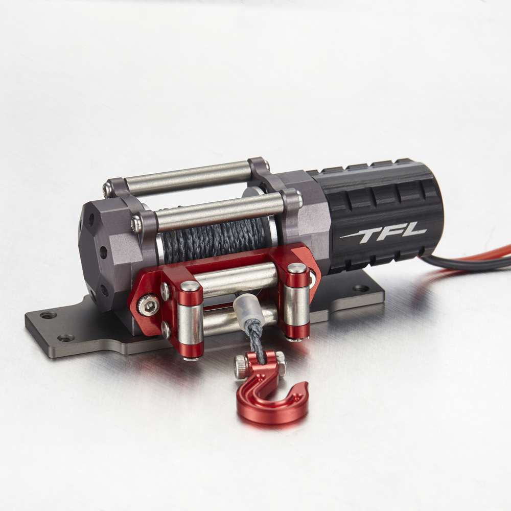 TFL 1:10 Metal Winch Electric Winch for Simulation Climbing Car