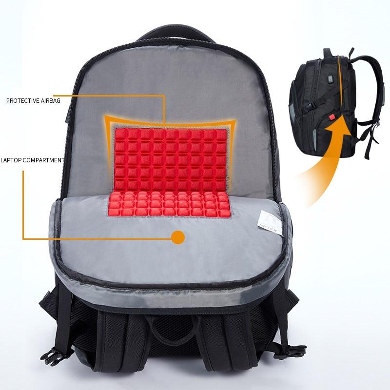 KALIDI Large Laptop väska 18,4 17,3 tums svart datorväskor - Laptop-tillbehör - Foto 4