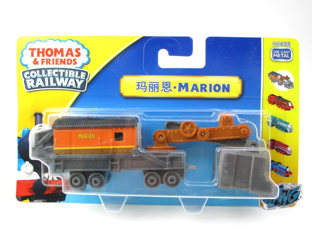 1:64 Diecasts Vehicles Thomas T086N MARION Thomas And Friends Magnetic Tomas Truck Engine Railway Train Toys for Boys NIB